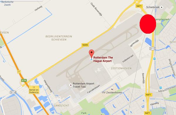 vliegtuig volgen bij rotterdam the hague airport