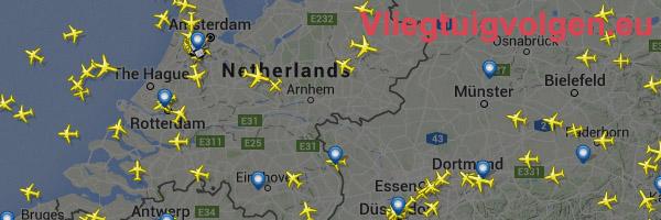 vliegtuig volgen bij vliegtuigvolgen