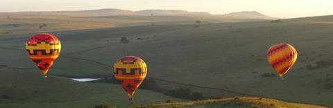 Johannesburg ballonvlucht