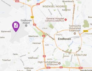 locatie eindhoven airport
