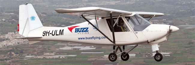 Ikarus C42B vliegtuig