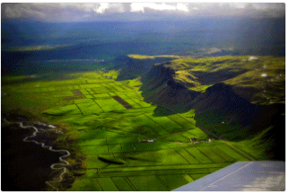 vlucht-over-ijsland-volgen