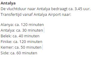 vlucht volgen corendon antalya turkije
