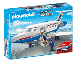 Playmobil City Action chartervliegtuig 5395