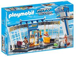 Playmobil luchthaven met verkeerstoren 5338