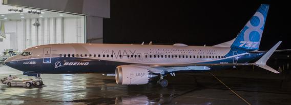 boeing 737 max vliegtuig